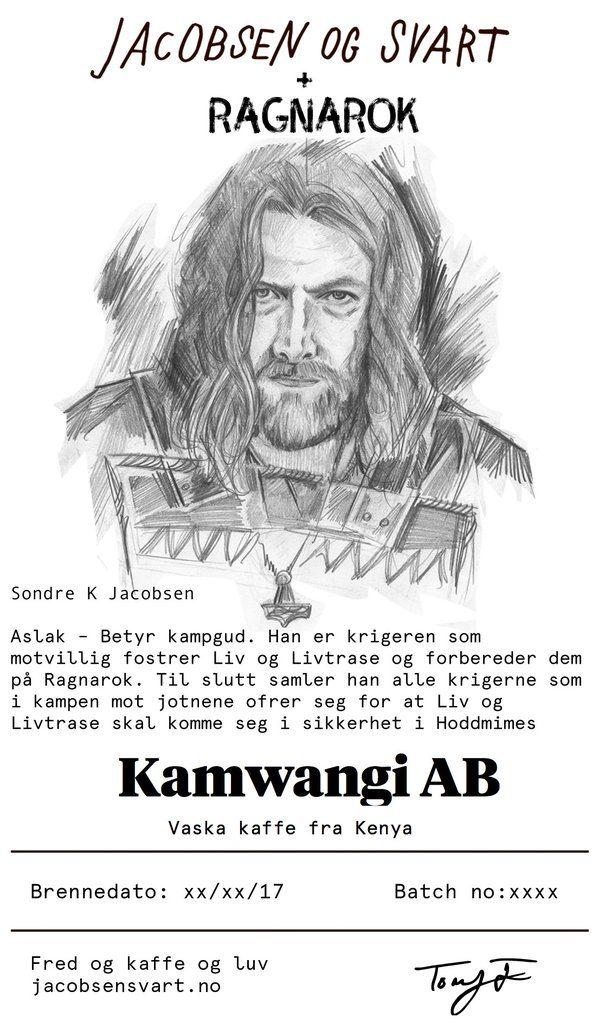 Ragnarok Viking Coffee Jacobsen og Svart